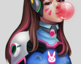 D.va fan art