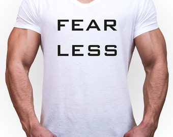 Men of T-Shirt fearless