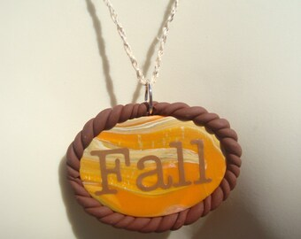 FALL Necklace | Autumn Necklace | Thanksgiving