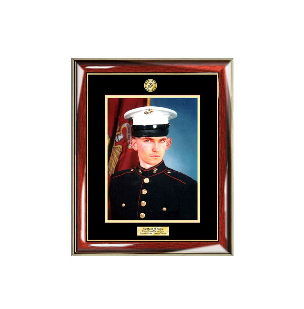 Personalized Military Photo Frame 8x10 Military Picture