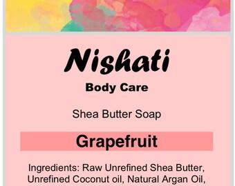 Grapefruit Shea Butter Soap
