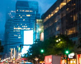 Bright lights, big city - Foto pring 20x30 cm