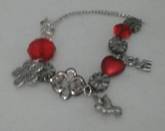 Bracelet: Romantic Red