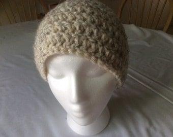 Hand crochet beanie/cap