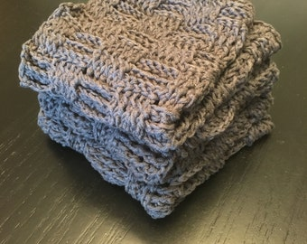 Crochet Cotton Washcloths