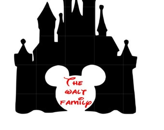 Personalized disney car decal