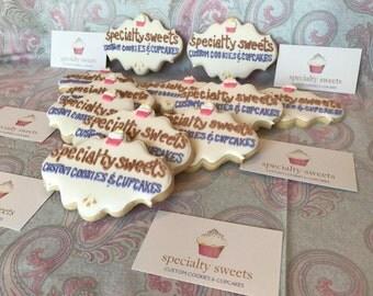 Custom Logo Cookies (MINIMUM QUANTITY of 12)