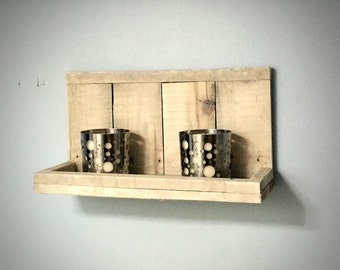 Small Rustic Reclaimed Shelf