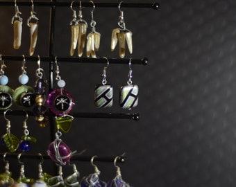 Opalescent Patterned Earrings