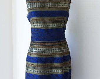 Vintage 80s John Roberts Wiggle Dress