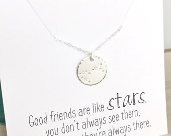 Constellation Necklace, Friendship Necklace, Taurus Necklace, Zodiac Jewelry, Taurus Jewelry, Long Distance Friend Birthday Gift