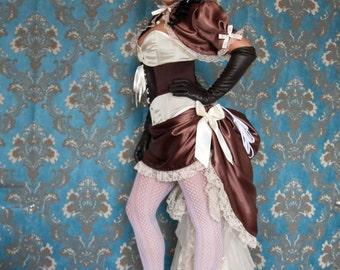 Scrumptious - Steampunk Lolita Wedding Dress - Ready to Ship