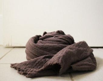 WOOL SHAWL / SCARF / texture / stripes / italian wool / handmade / made in australia / pamelatang