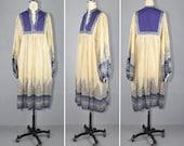 R E S E R V E D india dress / gauze dress / 1970s / festival / LOVE LETTERS vintage bohemian dress