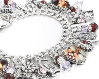 Mom Bracelet, Birthstone Bracelet, Personalized Mom Bracelet, Grandma Bracelet, Kids Names Bracelet