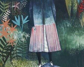 Pre-order - Standing tall - Giclee fine art print