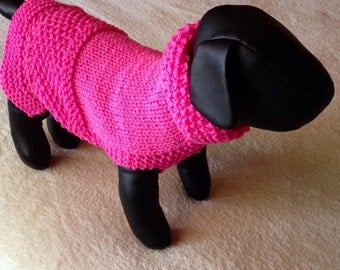 Hot Pink Chihauhau Sweater.