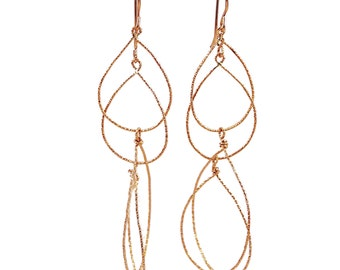 A Sprinkle of Sparkle Long Dangle Earrings