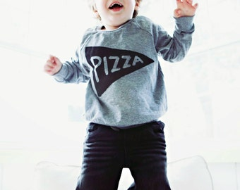 Gift for Kids : Pizza Pullover, Lightweight Sweatshirt, longsleeve unisex kids clothing shirt girls, boys gift for toddler tmnt, pizza party