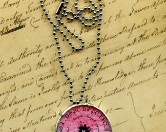 America the Beautiful  in Cherokee- Circle Hymn Necklace