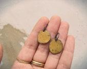 Earring 254-255/365 -Single earring sterling silver and enamel on copper - EAD2015