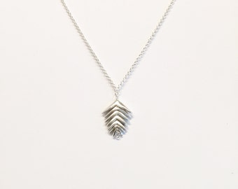 Mountain Brome Necklace with 7 spikelets