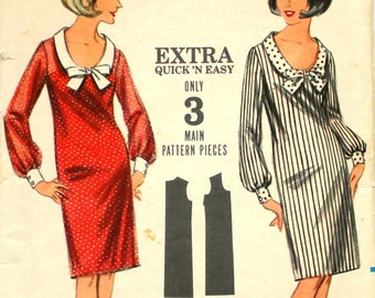 Quick 'N Easy Shift Bust 32 Butterick 3579
