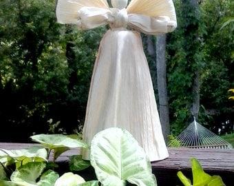 angel tree topper corn husk angel christmas tree topper rustic tree topper - Angel Christmas Tree Topper