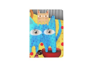 Passport Holder / sealed with vinyl laminate / water resistant cover