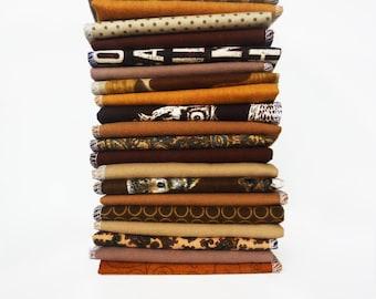 10 Brown Napkins Cloth Napkins - Modern Reusable Paper Towels - Unpaper Napkins - Casual Napkins - Eco Friendly - Everyday - 10 x 12 cb
