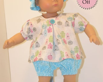 Bitty Baby Swing Top with Bloomers - Sweet Canary **Sale**