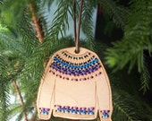 Sweater Ornament  DIY / Gift Tag DIY
