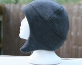 Earflap Fleece Hat Stocking Cap Unisex Adult Teen Beanie Multiple Colors Available