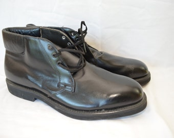 Vintage MASON WORK BOOTS Chukka size 10.5 D made in usa chippewa falls wisconsin