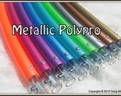 """The 'Metallic Collection' POLYPRO - Available in 3/4"""" AND 5/8"""" Thin Poly!  Best Selection of Pro Hoops & Over 20,000 Sold."""