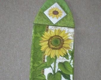 Sunflower dish towel