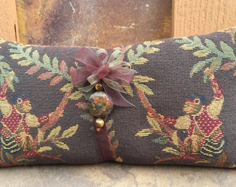 Monkey Business Tapestry -- Lavender Filled Pillow / Monekys / MontanaLavender / Lavender