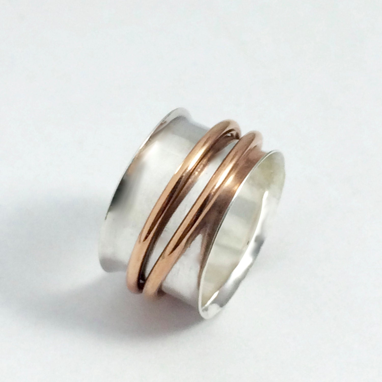 spinner ring sterling silver spinner ring spinning ring