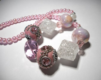 Aurora Disney Princess inspired Necklace & Bracelet