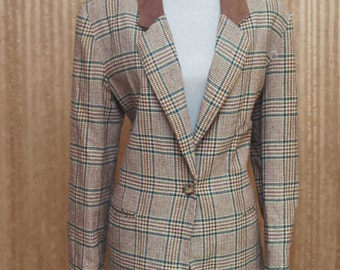 Sherlock - Plaid Jacket - Blazer - Suit - Hunting Houndstooth