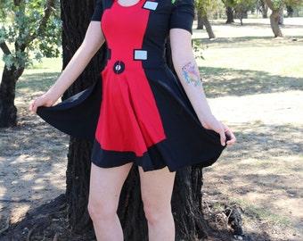 Deadpool Skater Dress