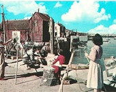 Vintage Cape Ann Postcard - Motif No. 1 and Outdoor Art Class at Rockport (Unused)