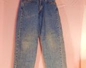 vintage Levi Jeans distressed womens denim, Waist 30,  551s ,high rise jeans, womens levis