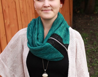 Teal Infinity Scarf, Fall Fashion, Womens Scarves, Unique Scarves, Handmade Scarves, Knit Scarf, Fashion Scarves, Ladies Scarves