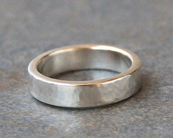 Rings, Mens Ring, Sterling Silver Ring, Silver Band Ring, Unisex Band Ring, Wedding Band