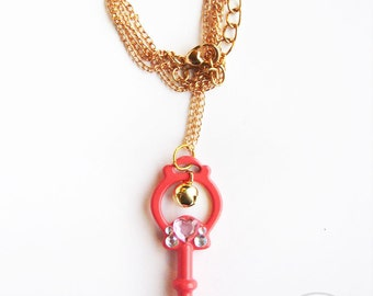 Magical Bell - mahou shoujo key necklace
