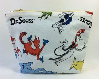 POUCH- Dr. Seuss **handmade**