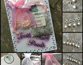 Attachable REPLACEMENT Pearls (for Tooth Fairy Bracelet)