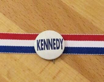 KENNEDY 1960 Campaign Pin, Campaign Button