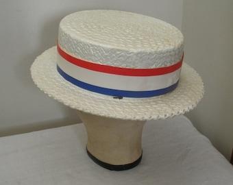Vintage Styrofoam Campaign Hat